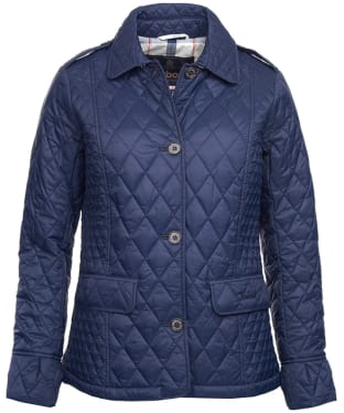 Women's Barbour Rosemarke Quilted Jacket - Navy