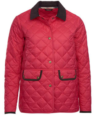 Women's Barbour Brimham Quilted Jacket - Raspberry Ripple