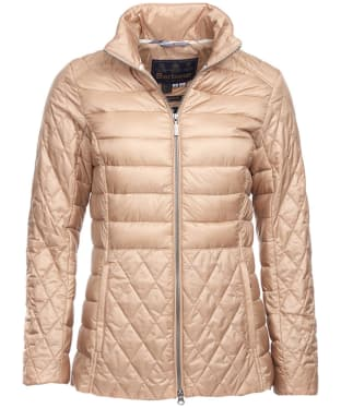Women's Barbour Marwick Quilted Jacket - Camel