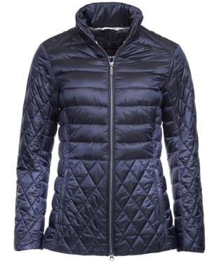 Women's Barbour Marwick Quilted Jacket - Navy