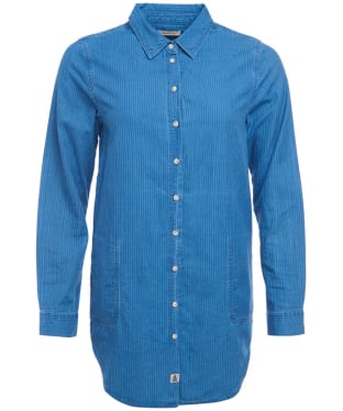 Women's Barbour Pembrey Shirt - Mid Blue