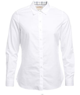 Women's Barbour Deerness Shirt - White