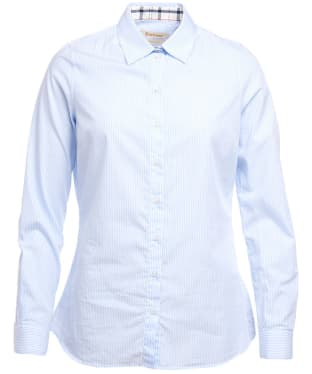 Women's Barbour Prudhoe Shirt - Blue / White