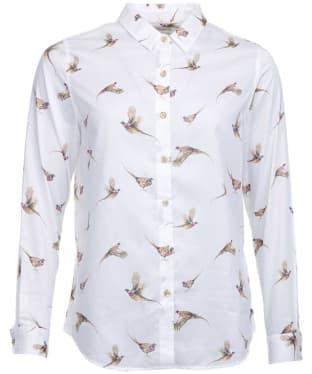 Women's Barbour Moorfoot Shirt - Cloud Multi Print