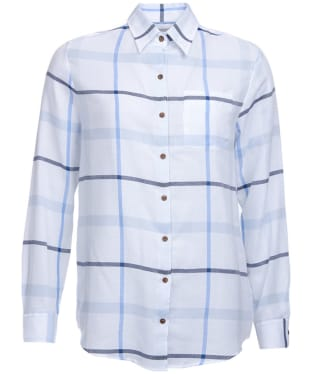 Women's Barbour Oxer Shirt - Blue