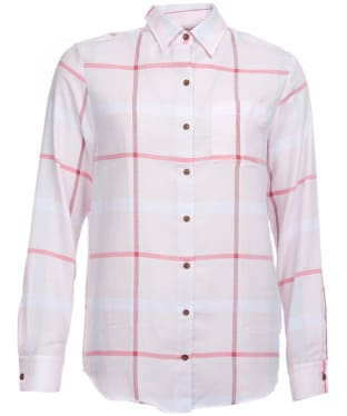 Women's Barbour Oxer Shirt - Pale Pink