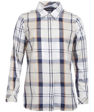 Women's Barbour Blantyre Shirt - Summer Mist Tartan