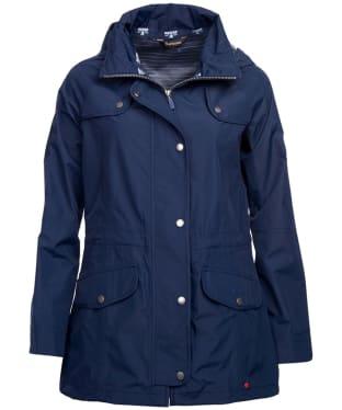 Women's Barbour Trevose Waterproof Jacket - Navy 2