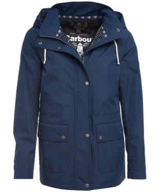 Women's Barbour Hawkins Waterproof Jacket - Navy