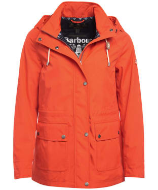 Women's Barbour Hawkins Waterproof Jacket - Signal Orange