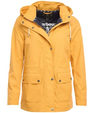 Women's Barbour Hawkins Waterproof Jacket - Canary Yellow