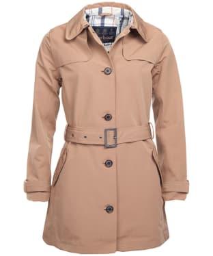 Women's Barbour Thornhill Waterproof Jacket - Camel