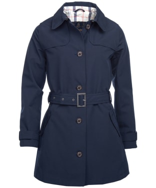 Women's Barbour Thornhill Waterproof Jacket - Navy