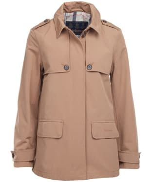 Women's Barbour Glenrothes Waterproof Jacket - Camel