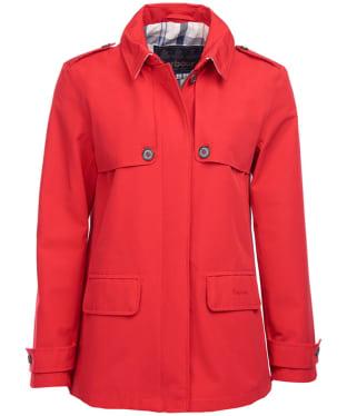 0bce3c0686338 Women s Barbour Glenrothes Waterproof Jacket - Tartan Red