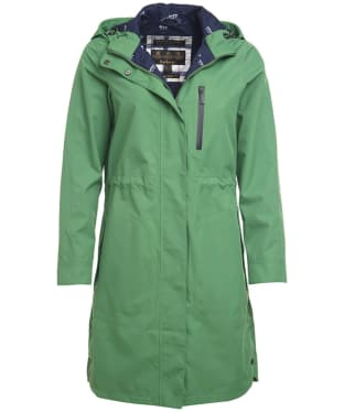Women's Barbour Sleet Waterproof Jacket - Clover