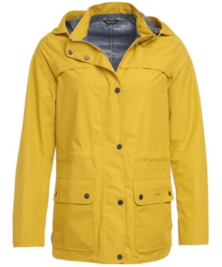 Women's Barbour Barometer Waterproof Jacket - Canary Yellow