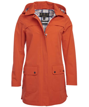 Women's Barbour Almanac Waterproof Jacket - Signal Orange