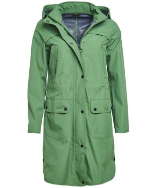 Women's Barbour Pressure Waterproof Jacket - Clover