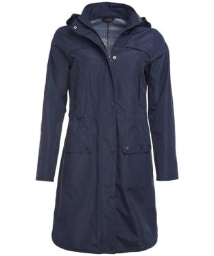 Women's Barbour Pressure Waterproof Jacket - Navy