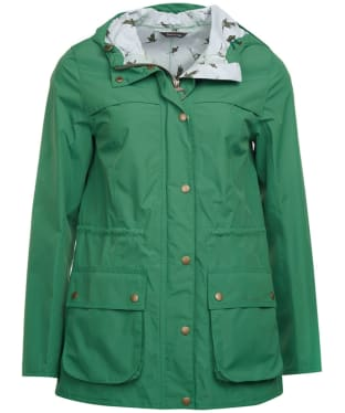 Women's Barbour Brimham Waterproof Jacket - Clover