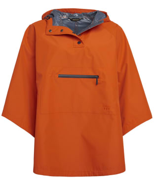 Women's Barbour Alto Waterproof Cape - Signal Orange
