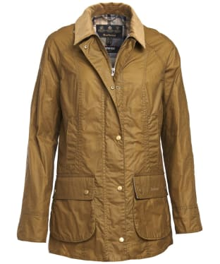 Women's Barbour Lightweight Beadnell Wax Jacket - Sand