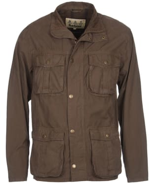 Men's Barbour Gateford Jacket - Mid Olive