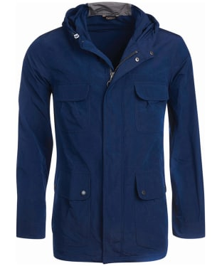 Men's Barbour International Pack Fishtail Parka Jacket - Blue