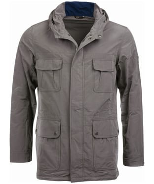 Men's Barbour International Pack Fishtail Parka Jacket - Grey