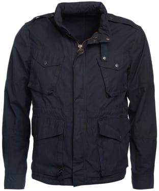 Men's Barbour Steve McQueen Dual Casual Jacket - Navy