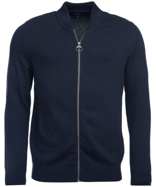 Men's Barbour Blair Zip Through Sweater - Navy