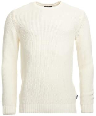 Men's Barbour Kelp Crew Neck Sweater - Neutral