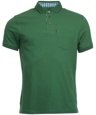 Men's Barbour Newbury Polo Shirt - Racing Green