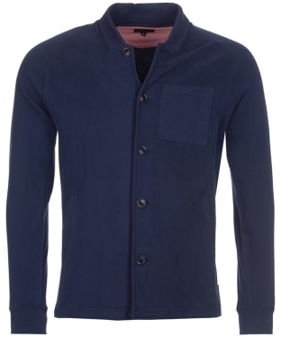 Men's Barbour Ireby Button Through Sweater - Navy