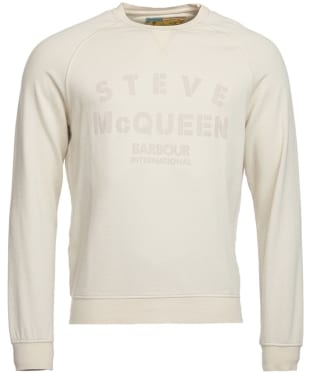Men's Barbour Steve McQueen Stencil Crew Sweatshirt