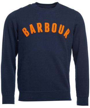 Men's Barbour Prep Logo Crew Sweater - Navy