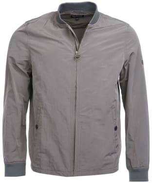 Men's Barbour International Bolt Sweater Jacket - Grey