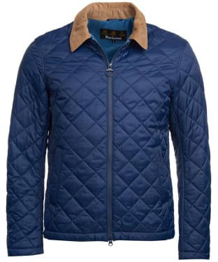 Men's Barbour Helm Quilted Jacket - Royal Navy