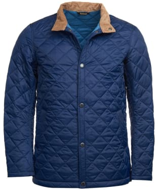 Men's Barbour Elgon Quilted Jacket - Royal Navy