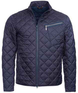 Men's Barbour International Mass Quilted Jacket - Navy