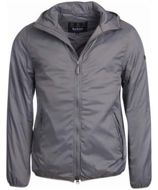 Men's Barbour International Draft Quilt Jacket - Light Grey