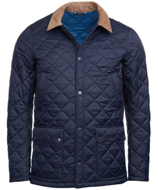 Men's Barbour Glyne Quilted Jacket - Navy