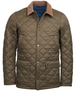 Men's Barbour Glyne Quilted Jacket - Clay