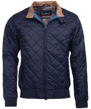 Men's Barbour Bates Quilted Jacket - Navy