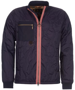 Men's Barbour Cast Quilted Jacket - Navy