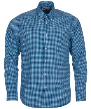 Men's Barbour Leonard Tailored Fit Shirt - Mid Blue