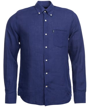 Men's Barbour Frank Tailored Fit Shirt - Indigo