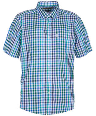 Men's Barbour Hawnby Check Shirt - Racing Green Check