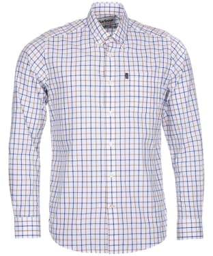 Men's Barbour Henry Tailored Fit Shirt - Sandstone